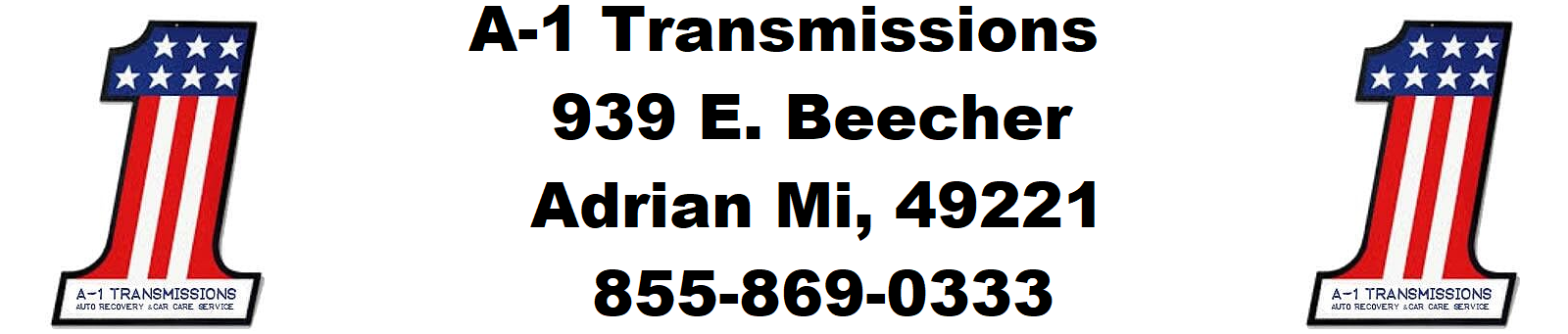A-1 TRANSMISSIONS TOWING & RECOVERY SERVICE